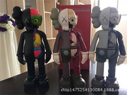 2019 tiras de acabamento em cromo interior 2020 16 Inch KAWS Dissected Companion originais falso figuras de ação brinquedo para crianças Kaws ação 37cm brinquedo figuras 001