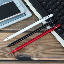2019 lapiceros para celulares Lápiz capacitivo universal de la pantalla táctil de la pluma capacitiva para la tableta del iPhone iPad Teléfono celular Samsung PC Envío gratis rebajas lapiceros para celulares