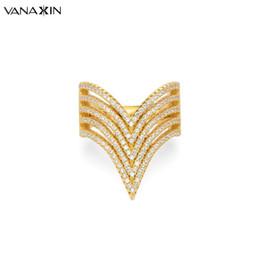 v anéis de forma para mulheres Desconto Vanaxin anel de prata 925 para as mulheres v forma anéis moda grande 925 jóias de prata esterlina cz zircon pedra anéis para as mulheres do casamento