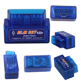 Canada Scanner diagnostique automatique d'interface d'auto de voiture d'ELM327 V2.1 OBD2 CAN-BUS OBDII Bluetooth supplier battery jeep Offre