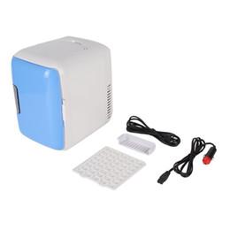 2019 mini congeladores Refrigeradores de doble uso para uso doméstico de 4L Refrigeradores ultra silenciosos de bajo ruido para automóviles Mini refrigeradores Congelador Refrigeración Caja de calefacción Refrigerador mini congeladores baratos