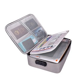 cinta de antena Rebajas Bolsa de almacenamiento de documentos de múltiples capas notas de archivo multifunción A4 documentos importantes cuentan esta bolsa de clasificación LOGOTIPO personalizado