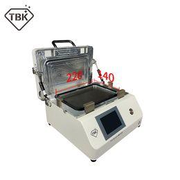 2020 máquina tbk 2019 Mais novo upgrated TBK-808M Tela LCD Touch Screen Reparação Automático Removedor de Bolha Máquina OCA Vacuum Laminating Machine desconto máquina tbk