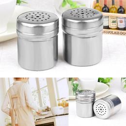 Mutfak Paslanmaz Çelik Çeşni Çalkalayıcılar Mutfak Konteyner BARBEKÜ Baharat Şişe Biber Tozu Aracı Baharat Tozu Serpme Pot BH0080 nereden