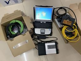Bmw laptop online-MB Star C5 SD Conecte C5 e Icom A2 + B + C para BMW con el software V05.2019 en SSD de 1 TB y computadoras portátiles usadas CF19