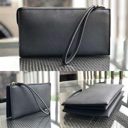 billetera de diseñador Rebajas diseñador de la marca carteras pulseras Monedero de los bolsos de embrague titular de la tarjeta titulares de Moda Bolsas femeninos 3 capas mitón correa