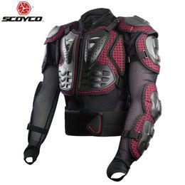 Chaqueta de moto protector de pecho online-Original Scoyco AM02-2 Motorcycle Armor Racing Chaqueta Guardia Moto Protection Gear Pecho Protector de espalda