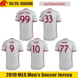 2019 версия red 19 20 New York Red Bulls футбольная майка IVAN 2019 2020 Fans & Player version WRIGHT-PHILLIPS Футболка KAKU LONG Mens Kids Jersey дешево версия red