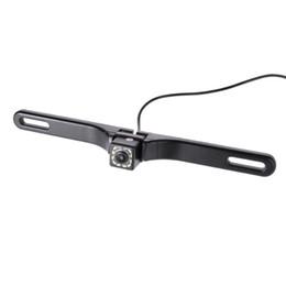 Новый Ночного Видения 12 ИК-светодиодов Автомобильная камера заднего вида Рамка номерного знака Резервное копирование камеры от