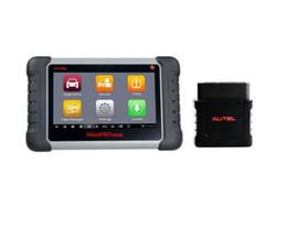 ferramenta de diagnóstico de caminhão grátis Desconto Varredor automotivo do diagnóstico de Autel MaxiPRO MP808TS com função de serviço de TPMS e Bluetooth sem fio (versão principal de Maxisys