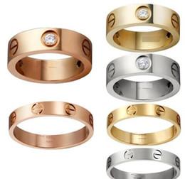 Gli amanti anelli in titanio anello nuziale Carter Cross anelli gioielli moda migliori amici di alta qualità Promozione all'ingrosso da