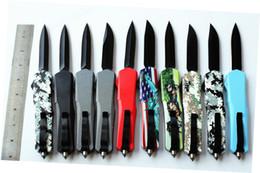 камуфляжные ручные ножи Скидка СТАВКА НЕТ ЛОГОТИПА настраиваемое Качество A07 кемпинг тактический нож 9 дюймов черный / камуфляж ручка открытый кемпинг нож выживания коло