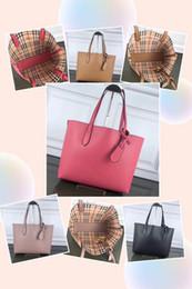 2019 bolsas pvc de qualidade Bolsas de luxo marca designer original de alta qualidade famosa marca saco de couro genuíno bolsa de ombro reversível saco de compras