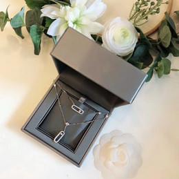 porzellan großhandel anhänger antik Rabatt Damenschmuck 2019 Fashion New Double Sliding Double Layer Halskette