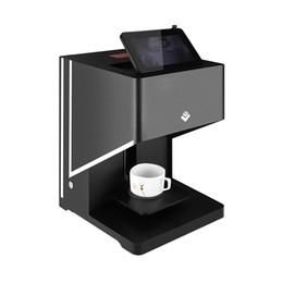 Inchiostro della stampante online-Stampante automatica del caffè della stampante automatica del caffè per macaron del latte con inchiostro commestibile liberamente