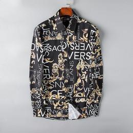 платье с ящиками Скидка 2019 бренд мужской бизнес повседневная рубашка мужчины с длинным рукавом в полоску slim fit masculina социальные мужские футболки новая мода человек проверил # 801 рубашка