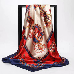 Ткань шелковицы шелковицы 90 * 90cm шелковая ткань напечатанная для мягкого платья шарфа Швейные материалы JHG044 от Поставщики красные атласные платья из кружева
