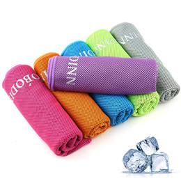 Natação 100 * 30 cm Esportes Gelo Utilitário Toalha Toalha de Resfriamento Instantâneo Respirável Esporte Gelo Ao Ar Livre de Fitness Exercício de