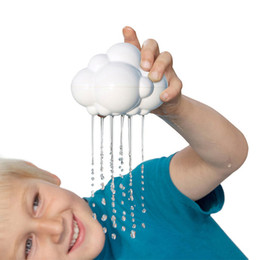 2019 nuvola di pioggia Giochi da bagno Can Rain Cloud Toy Baby Flower Sprinkler Shower Room Waterplay Funny Creative Resistente all'usura 2 5 ° F1 nuvola di pioggia economici