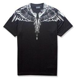 mostra le ali Sconti ss new Marcelo Burlon T-Shirt Uomo Milano Feather Wings T Shirt Uomo Donna Coppia Fashion Show RODEO MAGAZINE Magliette Goros camisetas