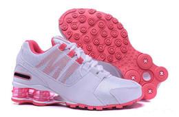 new style 23578 fa29e 2019 scarpe donna misura 8.5 Scarpe da donna Shox Free Shoes da donna rosa rosso  Avenue