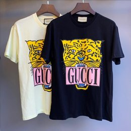 Animales de ropa online-Marca de verano Camiseta Para Mujeres Camisetas Con Letras Estampado de moda de moda de señora de señora Camisa Casual Tops Ropa 2 colores M-2XL