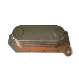 Pièces de moteur 6D114 de refroidisseur de radiateur d'huile de moteur Cummins d'excavatrice moderne de Komatsu 3 974 815, Cummins ? partir de fabricateur