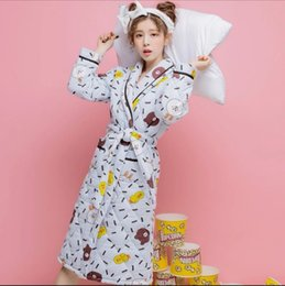LXB05+Urban beauty nightgown female winter thickening plus velvet plus long coral  velvet pajamas bathrobe autumn and winter models flannel c 95ed933e2