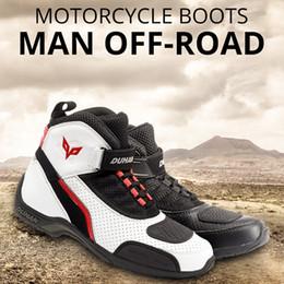 Großhandel SCOYCO Motorradstiefel Männer Road Street Freizeitschuhe Bato Motocross Stiefel Moto Touring Reiten Schuhe Scoyco Schutzausrüstung Von