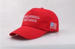 2019 angepasste hüte Machen Sie Amerika wieder groß Hut Donald Trump 2018 Republikaner-Hut-Kappe Justieren Sie Baseballmütze-Patrioten-Hut für Präsidenten-Trumpf günstig angepasste hüte