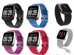 pk fitbit Coupons - Y7 Smart Bracelet Blood Pressure Oxygen Sport Fitness Tracker Watch Heart Rate Monitor Wristband Pk Fitbit Versa Mi band 3 115 Plus