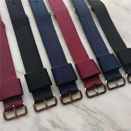 dw relógio pulseira de nylon Desconto 2019 nova moda Daniel Wellington pulseira 18MM fivela de ouro rosa mulheres DW assistir pulseira de nylon NATO