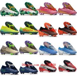 2020 tacchetti mens ragazzi calcio Superfly scarpe da calcio 7 Elite SE FG CR7 Neymar scarpe da calcio donne bambini Mercurial vapori 13 taglia 35 45