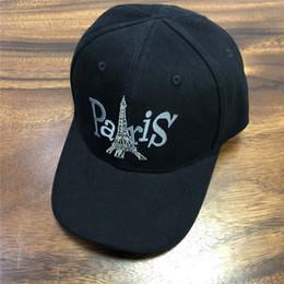 Sombrero de la marca paris online-Caps Balen-París de diseño sombreros gorra de béisbol Beanie béisbol para hombre Mujer Marca Gorra Sombrero Gorros