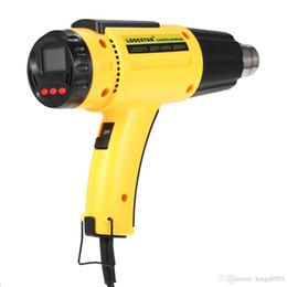 herramientas smd Rebajas Venta caliente 2000 W AC220 LODESTAR Pistola de aire caliente eléctrica digital IC de calor con temperatura controlada SMD Calidad Herramientas de soldadura Ajustable + Boquilla