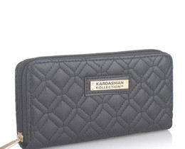 2019 portefeuilles kardashian porte-monnaie pour femmes Blanc Noir Kk Portefeuille Longues Portefeuilles Pour Femmes en Cuir PU Kim Kardashian Kollection High Grade Clutch Bag Zipper Porte-monnaie Sac à main promotion portefeuilles kardashian