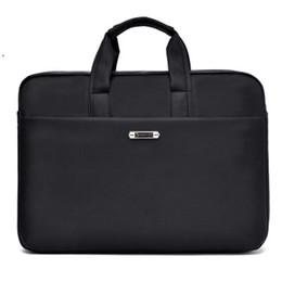 borse d'affari grande uomo Sconti Ipad Maschio Laptop Briefcase Business Man Bag Avvocato Ufficio Business Computer Bag Borsa lavoro porta computer Uomo Big GWB-009