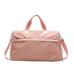 Ginásio de esportes de Fitness Seco Molhado Separação Yoga Bag Bolsas de Viagem Para Sapatos Mulheres Ombro Sac De Esporte Bagagem Duffle Bag de