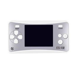 Mini game MD-ES-9S Batteria a secco Console di gioco portatile a 8 bit Stile portatile in mano Versione cinese e inglese di vecchio stile da giochi caramelle fornitori