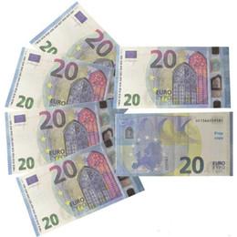 Juguetes dobles online-Juguete dinero de copia de euros proyectos de ley, de doble cara pretendo Prop Para el regalo de Navidad Niños