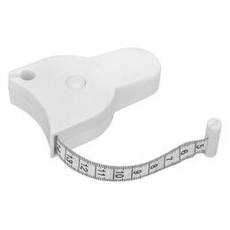 2019 fita de medição de fitness Moda Fat Weight Régua Retrátil Casa Perdida Medida 150 CM Aptidão Precisa Caliper Fita Métrica Acessórios Ferramenta TTA421 fita de medição de fitness barato