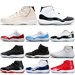 the best attitude a7a44 bf29a Air Jordan 11 Retro AJ11 Nike 11 11s Platinfarbton Concord 45 Herren  Basketballschuhe Win Link 82 96 Gamma Blue Bred Damen Sportschuhe 5.5-13  günstig link ...