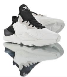 2019 chegam novas padrões Y-3 Kaiwa Tekno Luz Osso a tendência retro da viagem papai Shoes Mulheres Homens Preto Laranja Branco de tênis de Fornecedores de remendos bordados de qualidade