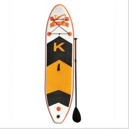 Seau de corde en Ligne-SUP pour adulte Surf Ski nautique Stand up paddle yoga paddle board Corde à pied, pompe à main, palmes, sac à dos, paddle, seau de réparation