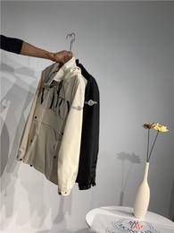2019 Новое Прибытие ltaly luxurio Марка MC + Val jonint имя Рукав куртка Мужчины Женщины Дышащий тренд Моды Уличная Одежда На Открытом Воздухе от