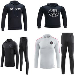 champion hoodies Coupons - 2018 19 X PSG jacket hoodie Champions League Survetement 18 19 PSG MBAPPE football jacket soccer TRACKSUIT