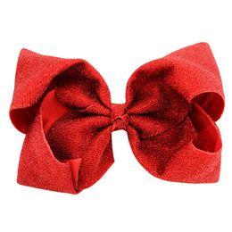 2019 beste weihnachtsgeschenke für mädchen 8 zoll shinning Jojo Siwa Haarschleifen Heißprägen Meerjungfrau Mädchen Hairbands kinder haarschmuck Beste Weihnachtsgeschenke für Mädchen günstig beste weihnachtsgeschenke für mädchen