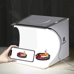 2019 lampada principale della foto studio fotografico soft box luce box prop scatola tenda studio semplice mini LED lampada fotografia ombra bordo pad lampada principale della foto economici