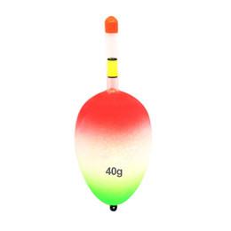 5 pezzi Sea Bobber Belly EVA luminoso Affrontare la pratica coda leggera galleggiante da pesca Rock Esca per pesci all'aperto Accessori da 15 perline fornitori