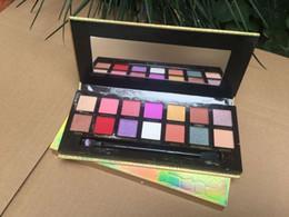 Freie lidschatten online-Kostenloser Versand ePacket Neue Make-up Augen heiße Marken Jackie Aina Lidschatten-Palette 14 Farben-Augen-Schatten! Happy_mei